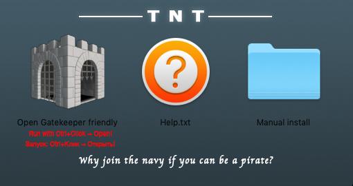 instalar programas de mac gatekeeper friendly - icono de castillo
