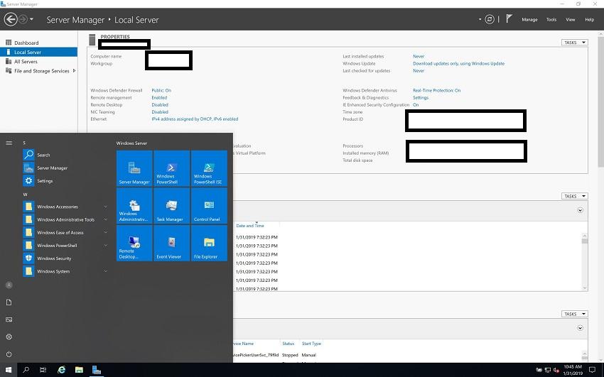 licencia windows server 2019