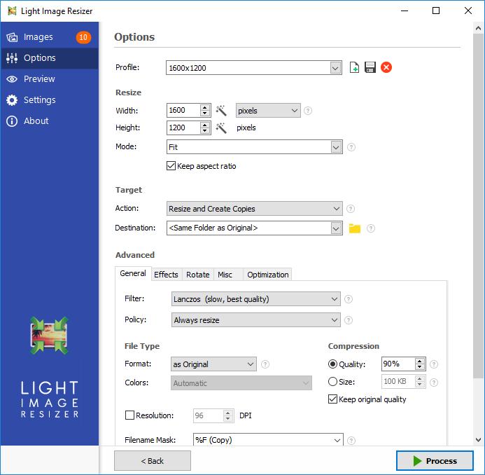 Light_Image_Resizer_5-full mega - reducir tamaño de fotos