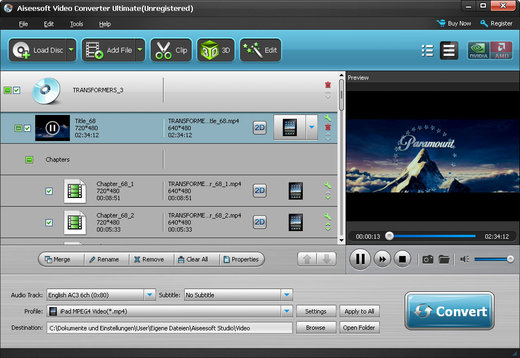 aiseesoft hd converter 9.8 - conversor video para mac