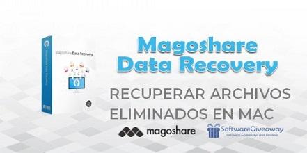 magoshare data recovery - recuperar archivos eliminados en mac