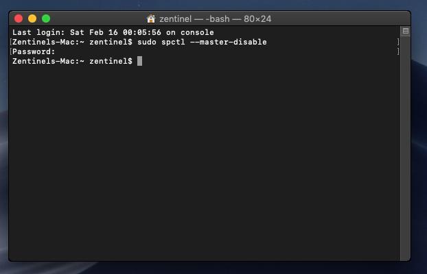 instalar apps de cualquier sitio en mac