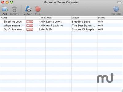macsome itunes converter - convertir musica itunes a mp3