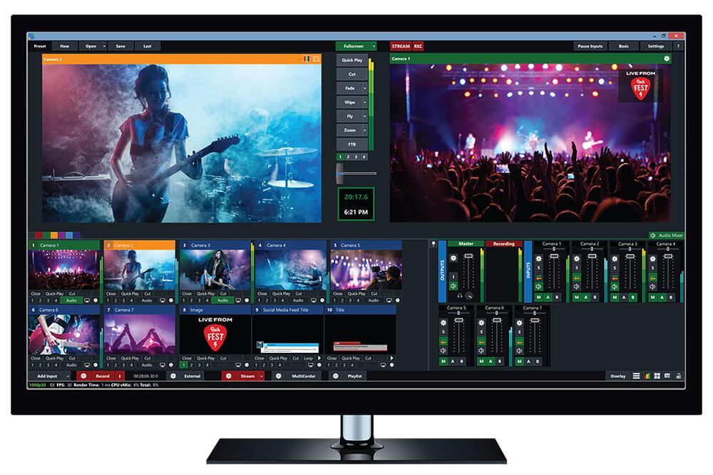 vmix pro 23 full mega - descargar vmix pro 23 streaming televisivo