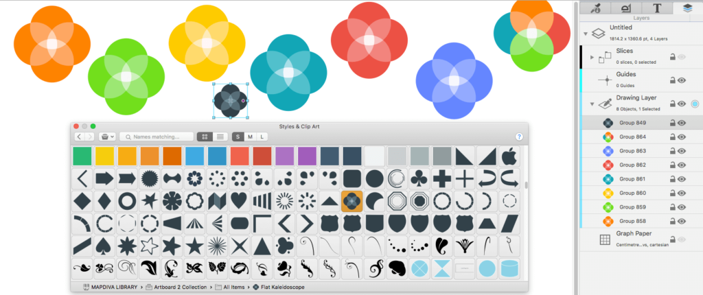 artboard 2 full mega - dibujo vectorial en mac full