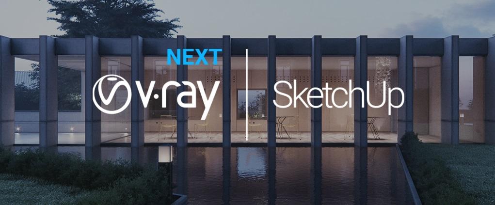 V-Ray_Next para sketchup 2019 - vray 2019