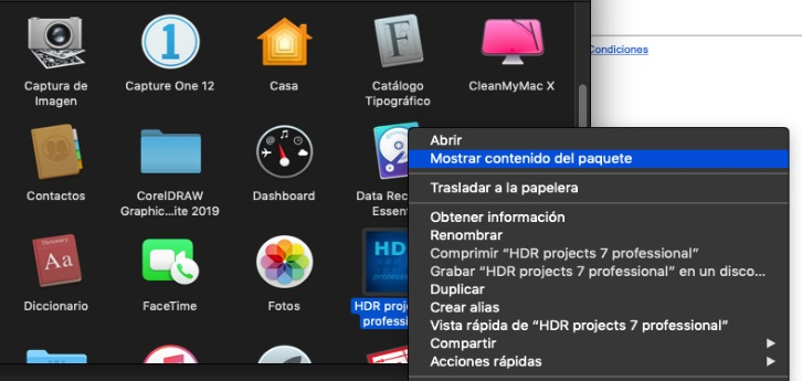 hdr projects mac