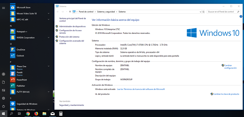 licencia windows 10 ltsc 2019