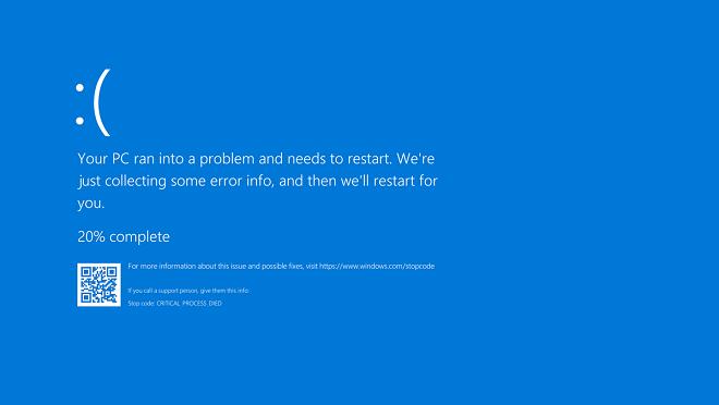 pantallazo azul de la muerte - error placa base