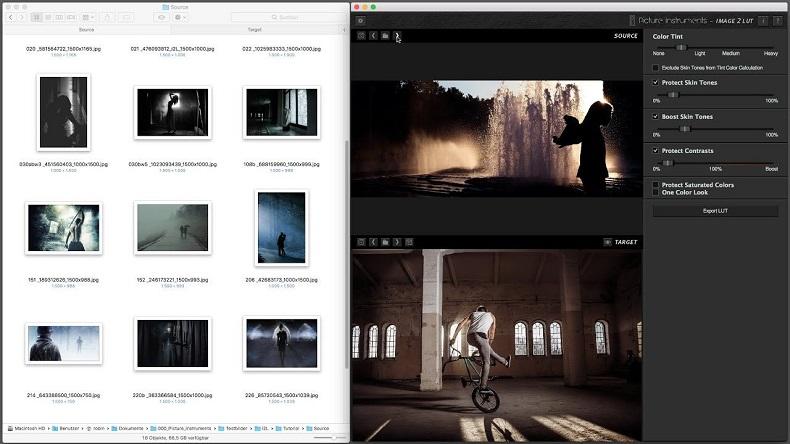 picture instruments image 2 lut pro full mega mac