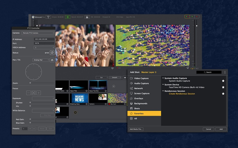 telestream wirecast pro - streaming en directo - full mega