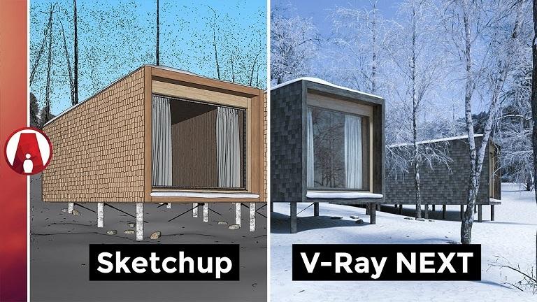 V-Ray Next 4.0 para Sketchup 2019 - Windows - Artista Pirata