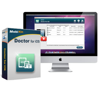 mobikin doctor ios - reparar iphone desde el mac