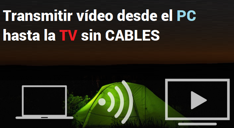 transmitir video desde windows 10 a tv
