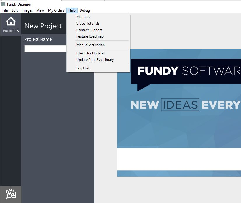 fundy designer album full