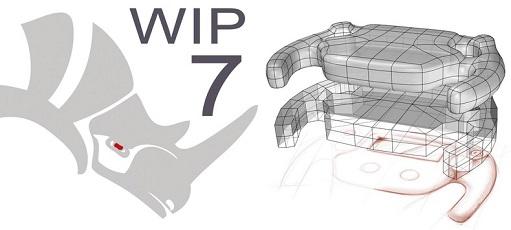 RHINOCEROS 7 WIP