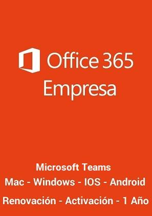 licencia office 365 empresas