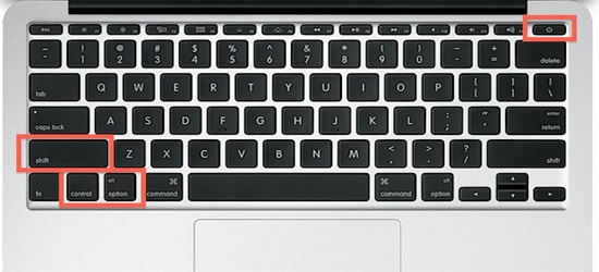resetear SMC en mac