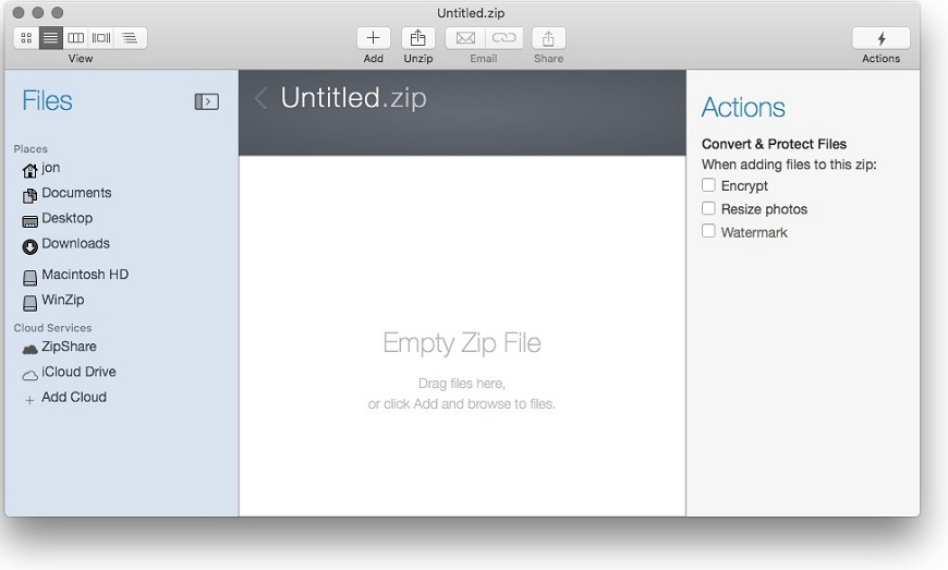 winzip mac pro 7