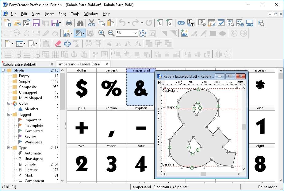 Resultado de imagen de High-Logic FontCreator Pro 12