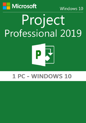 licencia Microsoft Project 2019 retail