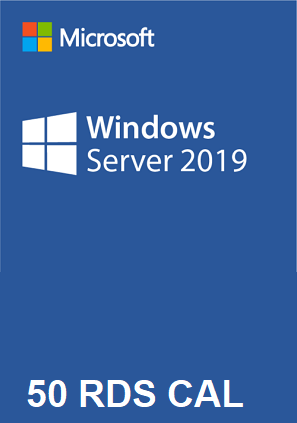 50 rds CAL windows server 2019