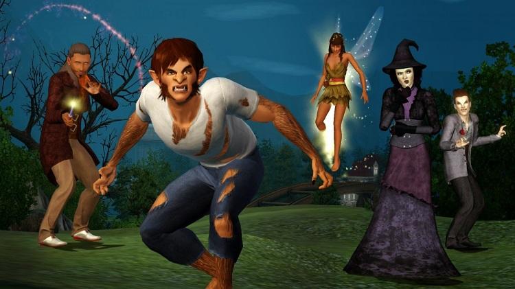 los sims 4 reino de la magia