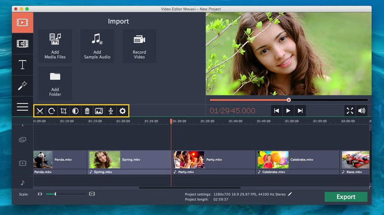 Movavi Video Editor 15.5 BUSINESS para Mac - Video ...