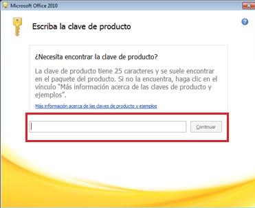licencia office 2010 pro plus