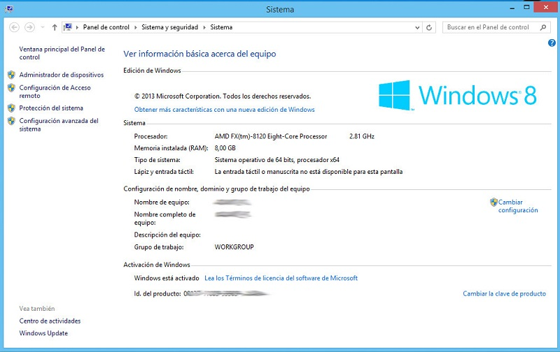 licencia windows 8.1 pro genuina
