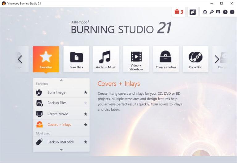 Resultado de imagen de Ashampoo Burning Studio 21