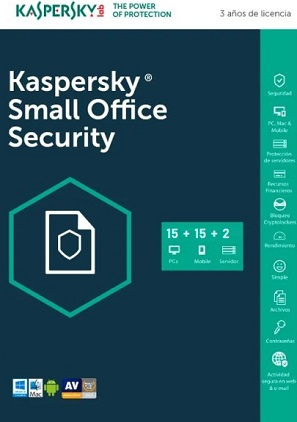 licencia kaspersky small office 15 dispositivos