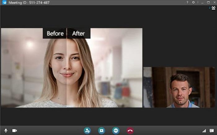 modo belleza skype