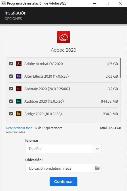 adobe master collection 2020 full
