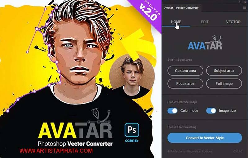 AVATAR-V2-CONVERTIR-FOTO-A-VECTOR