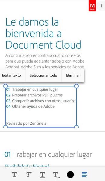 editar pdf en android