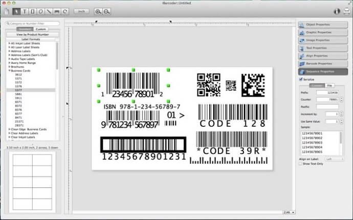 crear codigos de barras en mac