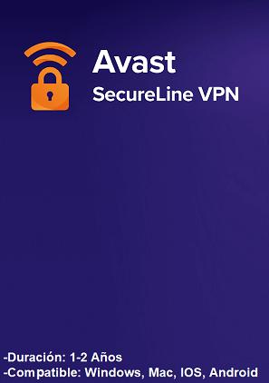 licencia avast secureline vpn key